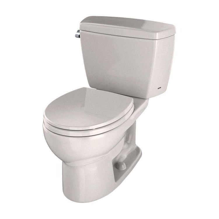Toto Drake Two Piece Round 1 6 Gpf Toilet With Insulated