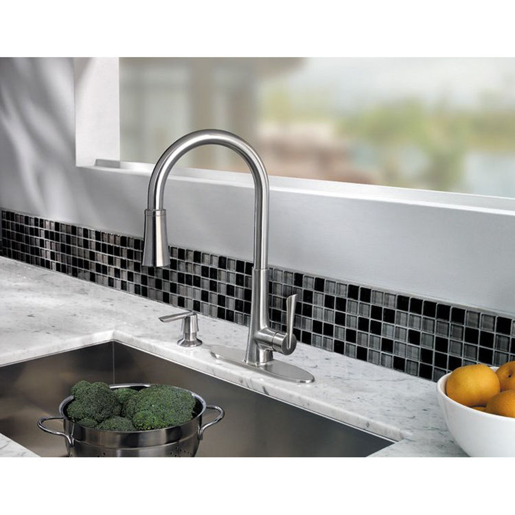 View 4 of Pfister GT529-MDS Pfister GT529-MDS Mystique Stainless Steel One Handle Pulldown Kitchen Faucet