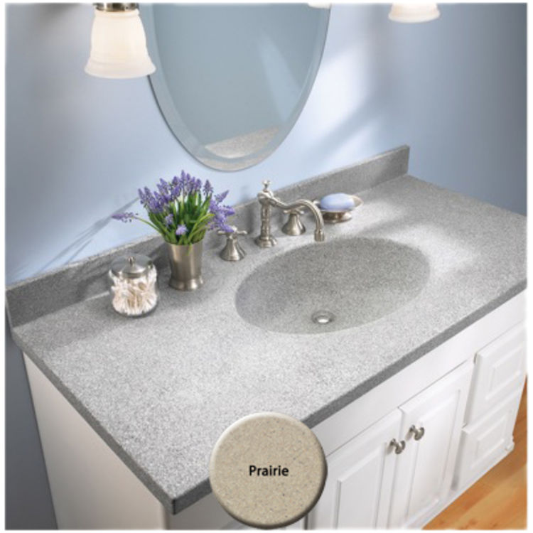 View 4 of Swanstone CH02255.122 Swanstone CH1B2255-122 Chesapeake Prairie Vanity Top