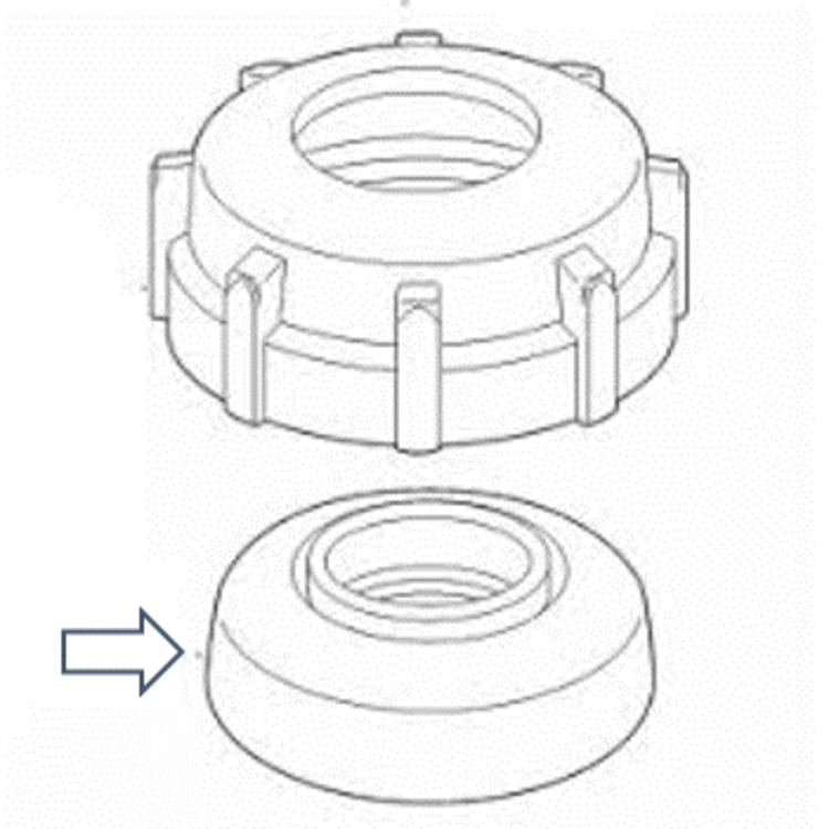 Toro 570seal 570 Replacement Seal White