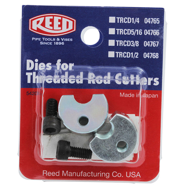 Reed TRDC1/2 Reed Manufacturing TRDC1/2 Replacement Dies 1/2