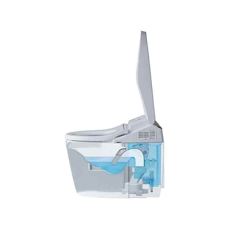 View 8 of Toto MS982CUMG#01 Toto Neorest 550H Dual Flush Toilet - 1.0 or 0.8 GPF, Cotton White - MS982CUMG#01