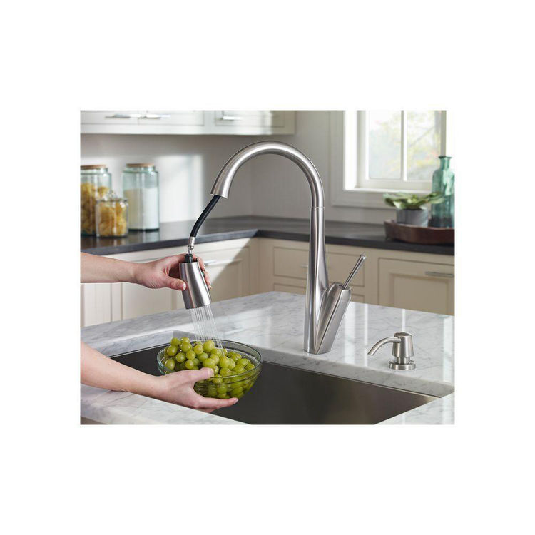 View 4 of Pfister GT529-MPS Pfister GT529-MPS Zuri One-Handle Pull-Down Kitchen Faucet - Stainless Steel