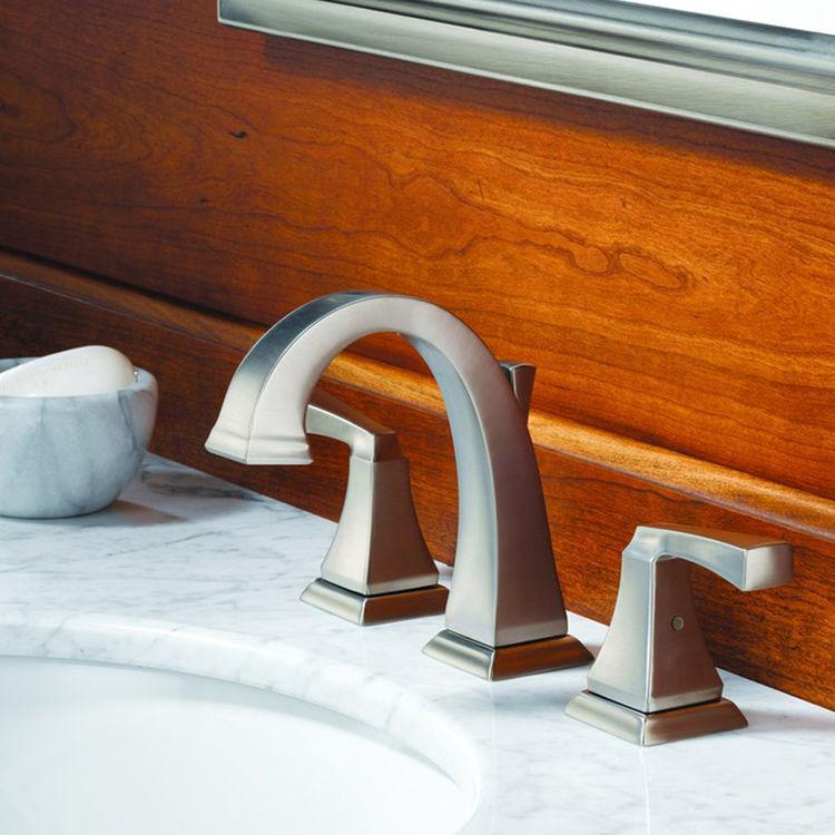 Delta 3551lf Pn Dryden Two Handle Widespread Bathroom