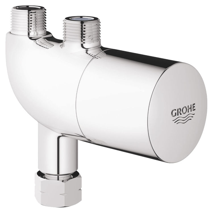 View 3 of Grohe 34507000 Grohe 34507000 Grohtherm Micro Thermo Scalding Protection, Starlight Chrome