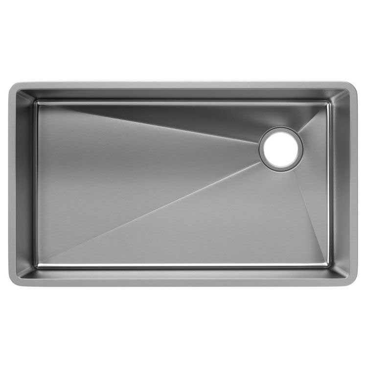 View 3 of Elkay ECTRU30179R Elkay ECTRU30179R Crosstown Stainless Steel Single Bowl Undermount Sink