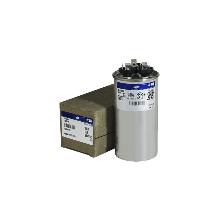 View 2 of Partners Choice 01-0272 Partners Choice 01-0272 45/10/370 Round Dual Run Capacitor