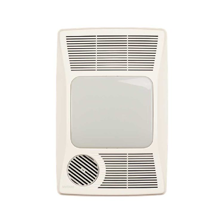 Broan 100 Cfm Ceiling Exhaust Fan With Light 696: Broan-Nutone 100HFL 100 CFM Bathroom Vent Fan With Light
