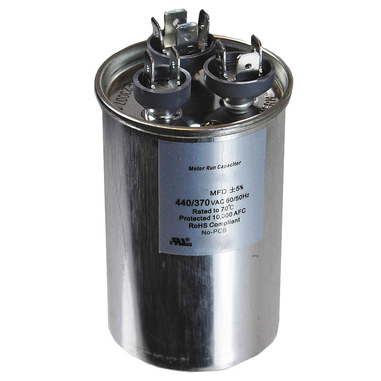 View 4 of Partners Choice 01-0089 Partners Choice 01-0089 65/5/370 Round Dual Run Capacitor