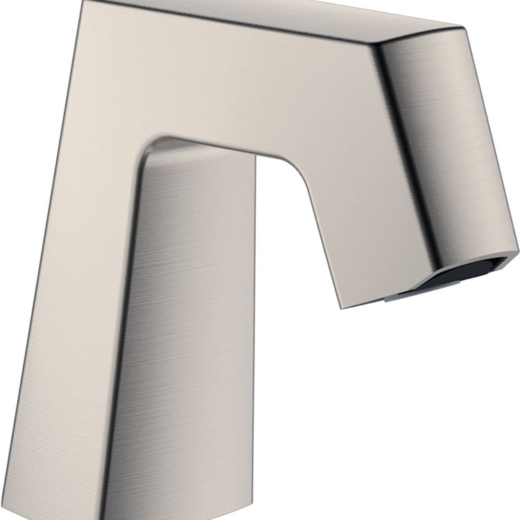 View 3 of Chicago Faucet EQ-B11B-KJKABBN Chicago Faucets EQ-B11B-KJKABBN EQ BRUSHED NICKEL 243.146.AB.1 1.0 GPM (3.8 L/min) Aerated Cache Outlet EQ Angular Electronic Integral Spout Assembly