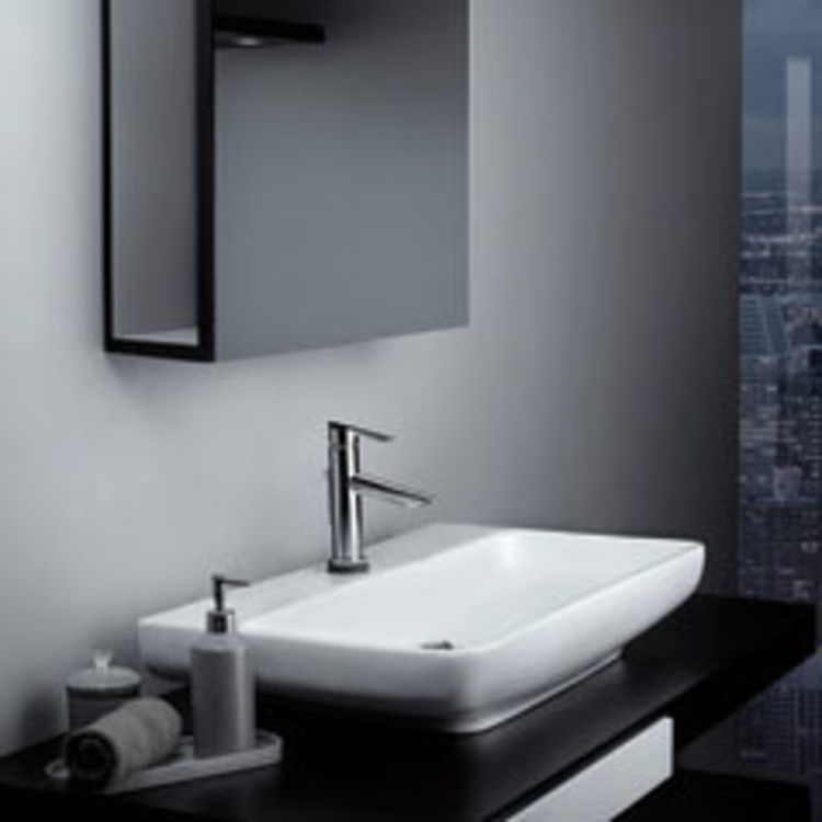 View 3 of Delta 561T-DST Delta 561T-DST Compel One Handle Lavatory Faucet w/ Touch2O.xt, Chrome