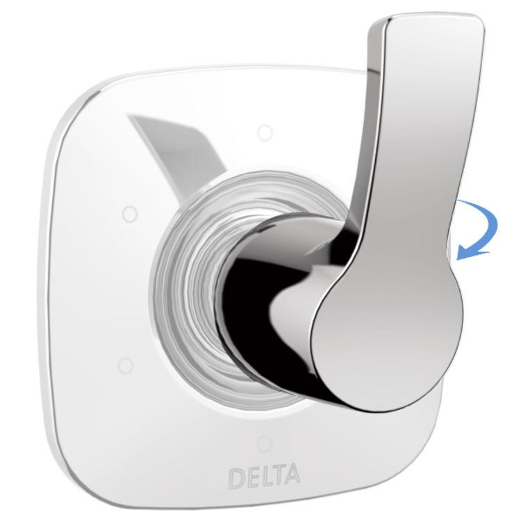 View 3 of Delta RP78703 Delta RP78703 Tesla Diverter Handle with Set Screw, Chrome