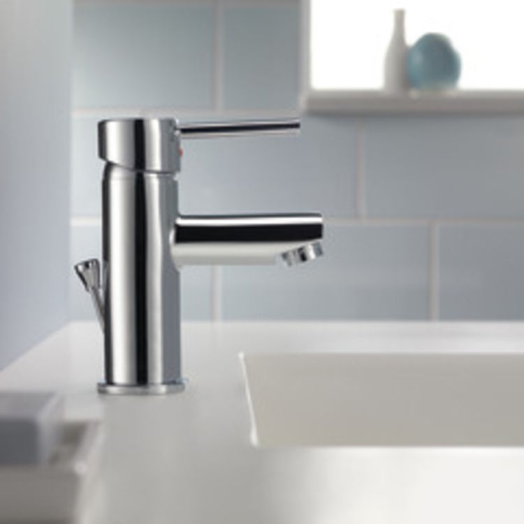 View 3 of Delta 559LF-PP Delta 559LF-PP Modern Single Handle Project-Pack Lavatory Faucet, Chrome