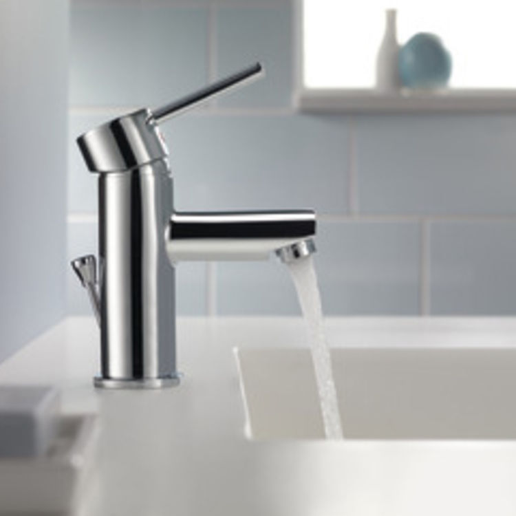 View 4 of Delta 559LF-PP Delta 559LF-PP Modern Single Handle Project-Pack Lavatory Faucet, Chrome