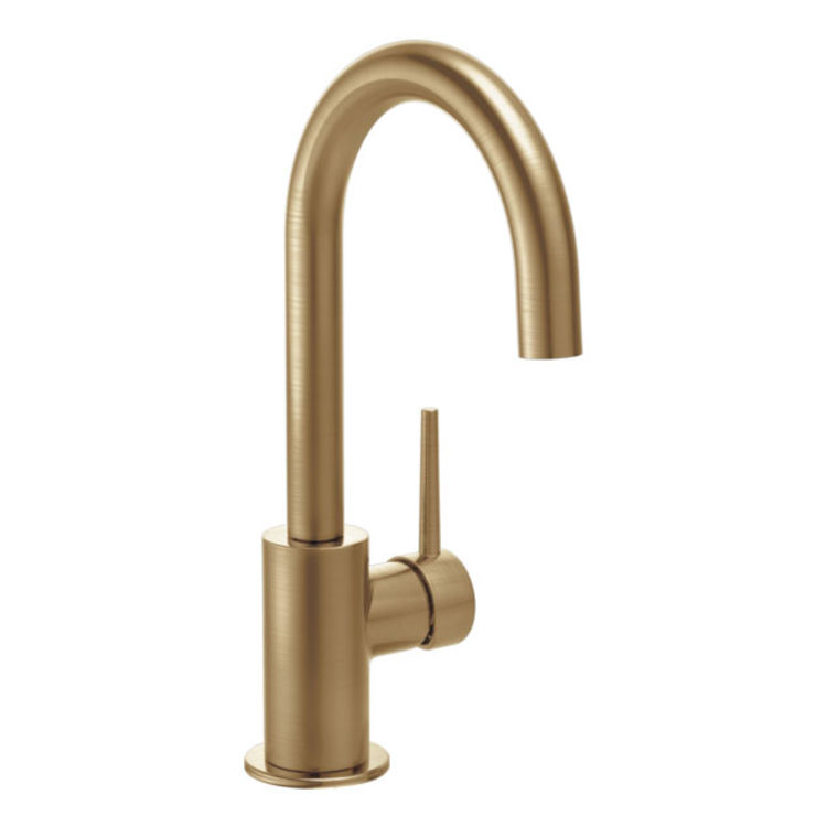 View 3 of Delta RP77704CZ Delta RP77704CZ Bar Faucet Flange and Gasket Kit, Champagne Bronze