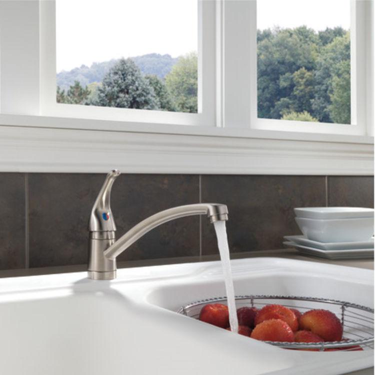 View 4 of Peerless P188201LF-SS Peerless P188201LF-SS TUNBRIDGE Single-Handle Kitchen Faucet - Stainless Steel