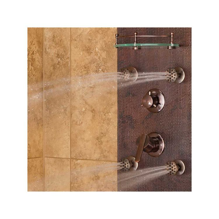 View 5 of Pulse 1018 Pulse 1018 Navajo ShowerSpa Hammered Copper, Oil-Rubbed Finish