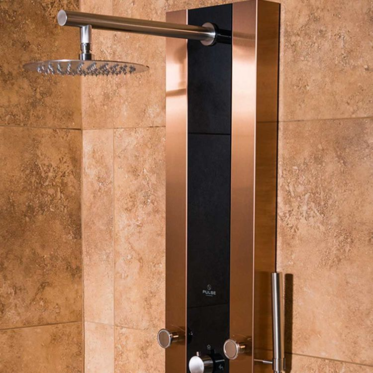 View 4 of Pulse 1049B-BN Pulse 1049B-BN Rio ShowerSpa Shower System, Brushed Nickel Finish