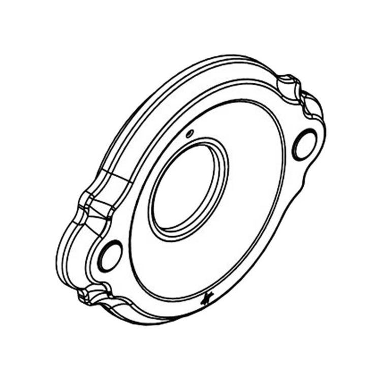 Moen 131187BN Moen 131187BN Waterhill Escutcheon Kit -  Brushed Nickel