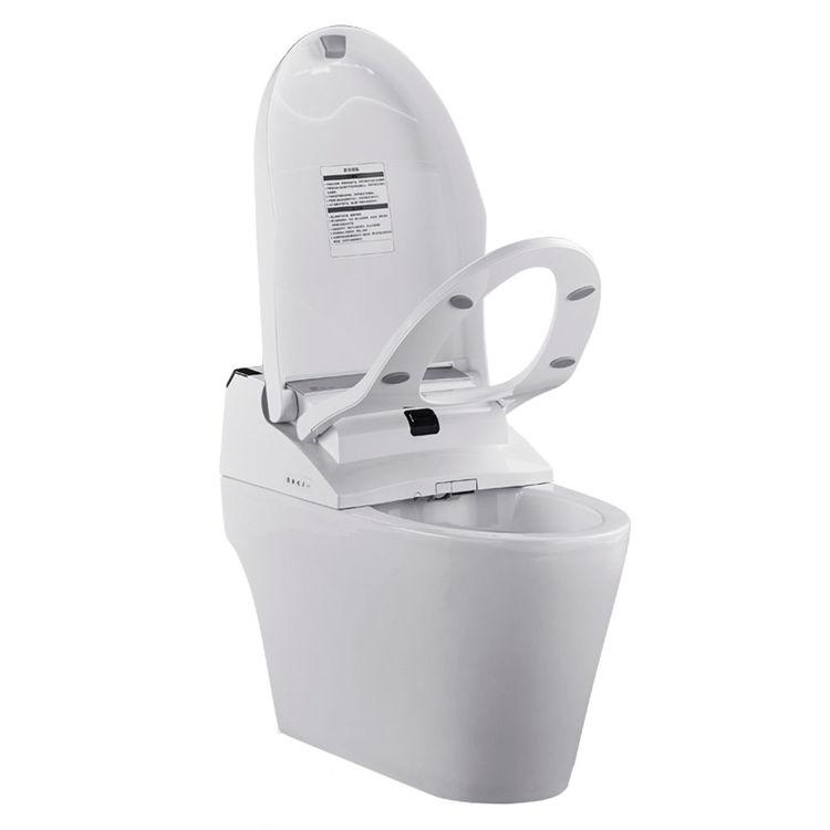 View 4 of ProStock PSBTWE1000 ProStock PSBTWE1000 Electronic Bidet w/ Integrated Elongated Toilet - White