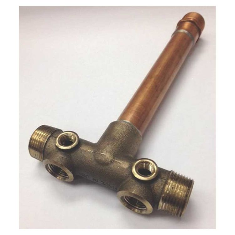 Simmons 709SB Simmons 709SB Fabricated Long Tank Cross, Silicon Bronze Body, Copper Pipe