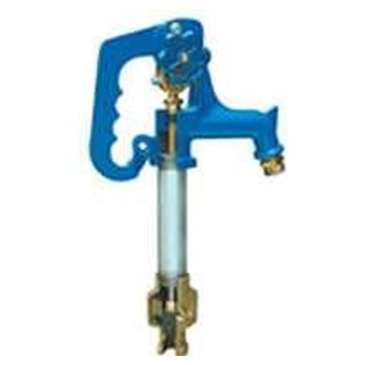 Simmons 808LF Simmons 808LF Frost-Proof Yard Hydrant, 3/4 in, FNPT x MHT, 8 ft Bury, 125-1/2 in OAL, Cast Iron Head, 120 psi