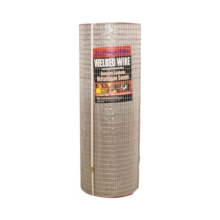 Jackson Wire 10083814 Jackson Wire 10083814 Welded Wire Fence, 100 ft L X 36 in H X 16 ga T, 1/2 X 1 in Mesh