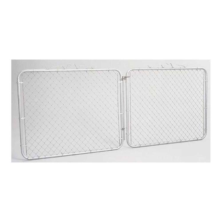SPS Fence GTB12048 SPS Fence GTB12048 Chain Link Drive Gate, 10 ft W x 48 in H, Steel.