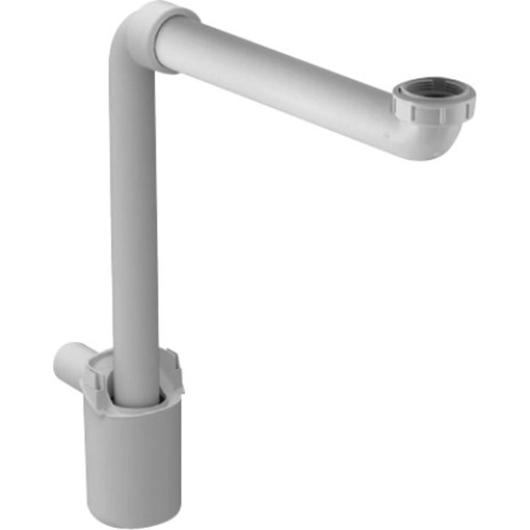 Duravit 50760000 Duravit 0050760000 2nd Floor Traps and Drain Space Saving Siphon in White