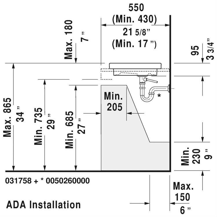 View 8 of Duravit 3175800001 Duravit 03175800001 2nd Floor 22-3/4