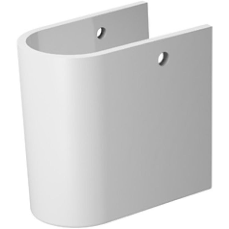 Duravit 8582500001 Duravit 08582500001 Darling New Siphon Cover for Bathroom Sink 262165, 262160 and 262155 in White