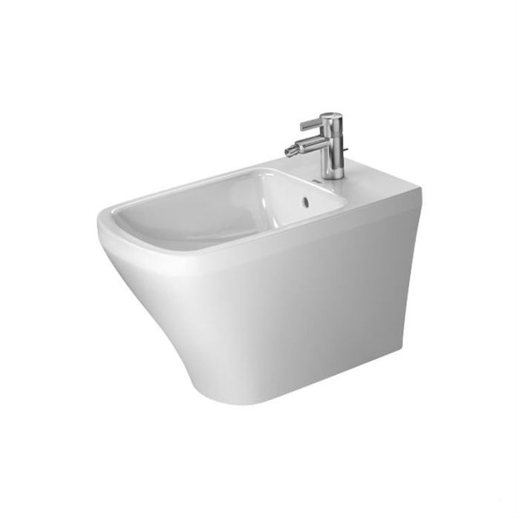 View 5 of Duravit 22831000001 Duravit 22831000001 DuraStyle Single Hole Floor Standing Bidet in White Finish