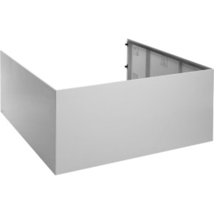 Duravit 7.01023E+14 Duravit 701023000000000 Blue Moon Acrylic Panel for Back-to-Wall Bathtub in White