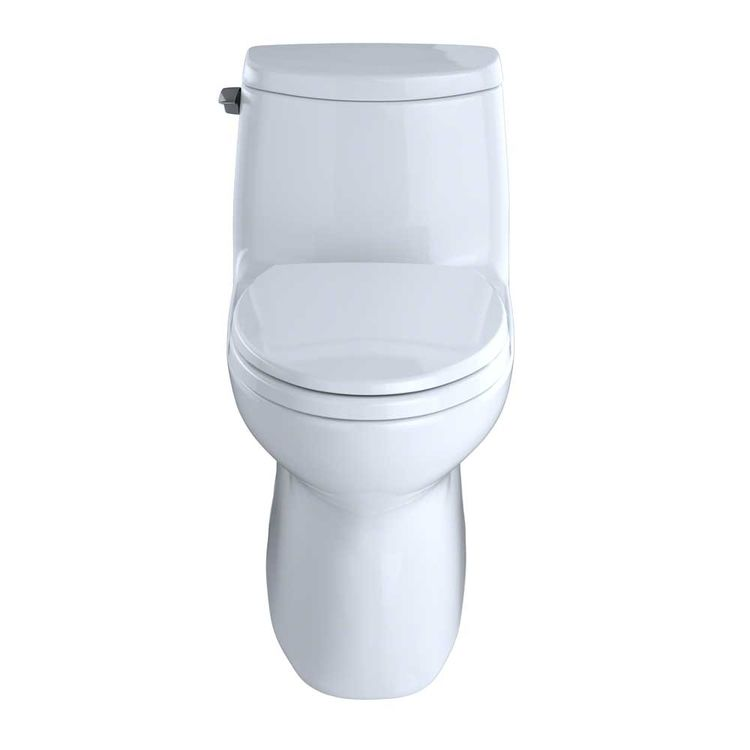 View 3 of Toto MS614114CUFG#01 TOTO Carlyle II 1G One-Piece Elongated 1.0 GPF Universal Height Skirted Toilet with CeFiONtect, Cotton White - MS614114CUFG#01