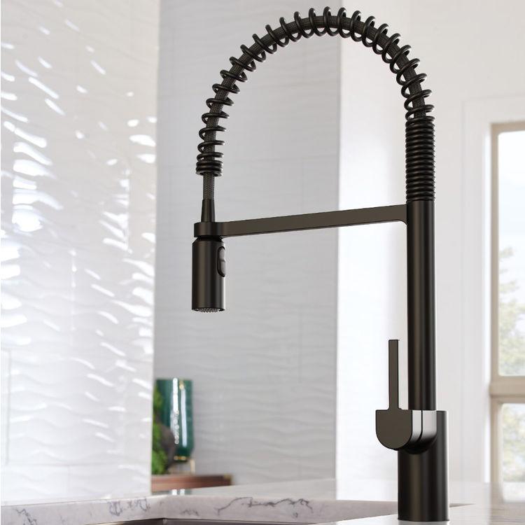 Moen 5923BL Align Matte Black One-Handle High Arc Pulldown Kitchen Faucet