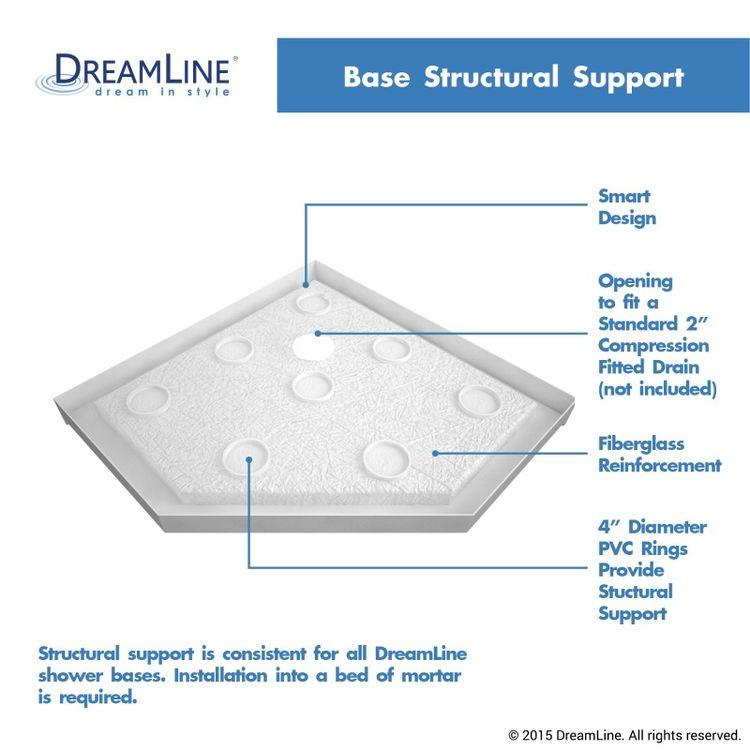 View 11 of Dreamline DL-6050-22-04 DreamLine DL-6050-22-04 Prism Lux 36