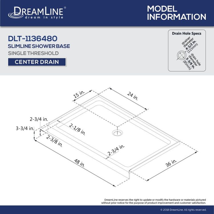 View 12 of Dreamline DL-6221C-22-01 DreamLine DL-6221C-22-01 Flex 36