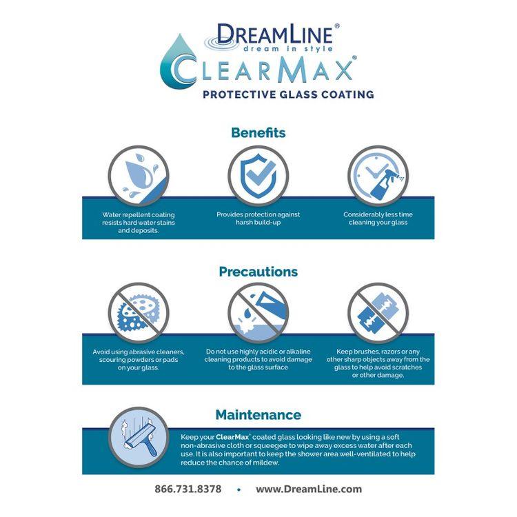 View 25 of Dreamline SHDR-634876H-01 DreamLine Essence-H 44-48