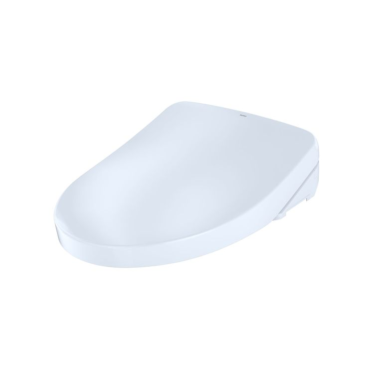 View 8 of Toto SW3046AT40#01 TOTO S500e WASHLET+ and Auto Flush Ready Electronic Bidet Toilet Seat with EWATER+and Contemporary Lid, Elongated, Cotton White - SW3046AT40#01