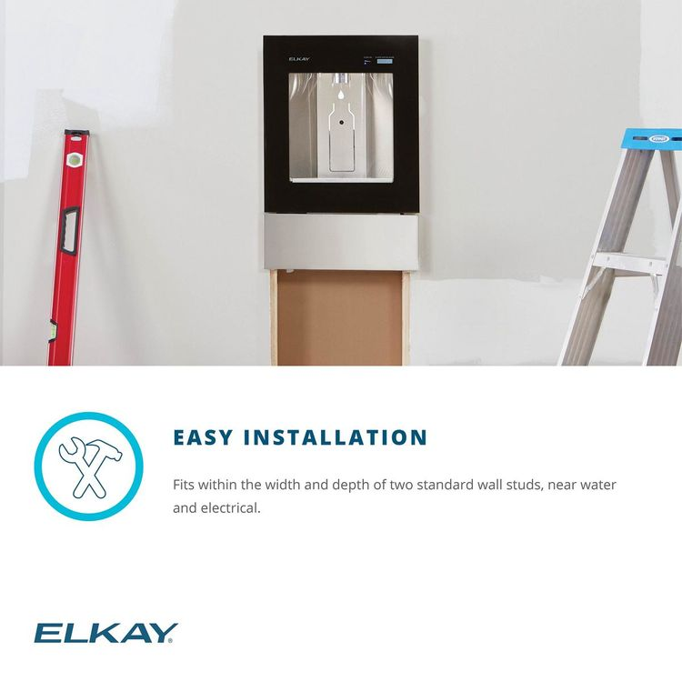 View 10 of Elkay LBWD06WHK Elkay LBWD06WHK ezH2O Liv Built-in Filtered Water Dispenser, Remote Chiller, Aspen White