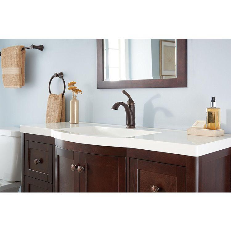 Delta 15999-RB-DST Delta 15999-RB-DST Haywood Venetian Bronze One Handle Bathroom Faucet
