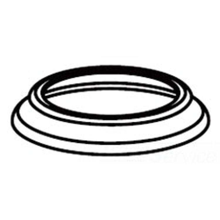 Moen 114302P Moen 114302P Aberdeen Handle Escutcheon - Polished Brass