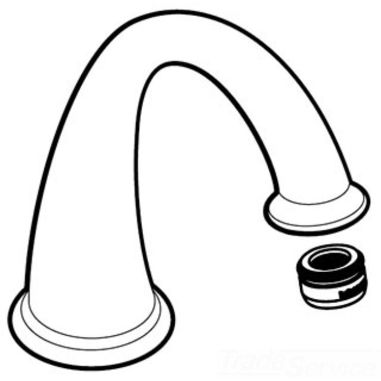 Moen 116663WR Moen 116663WR Kingsley Spout Kit for T6123 Series, Wrought Iron