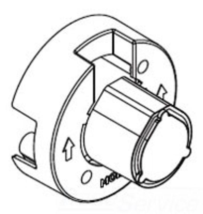 Moen 148478 Moen 148478 Part Three Function Diverter Valve Plaster Ground Chrome