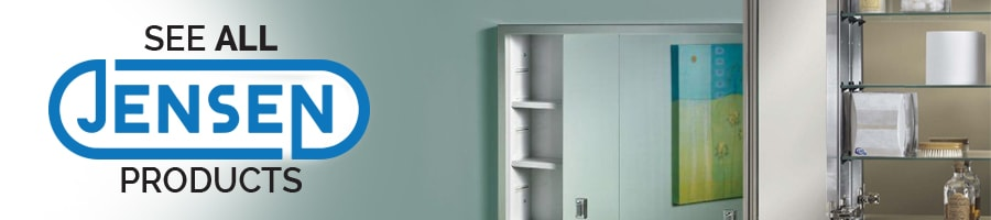 see all Jensen medicine cabinet products
