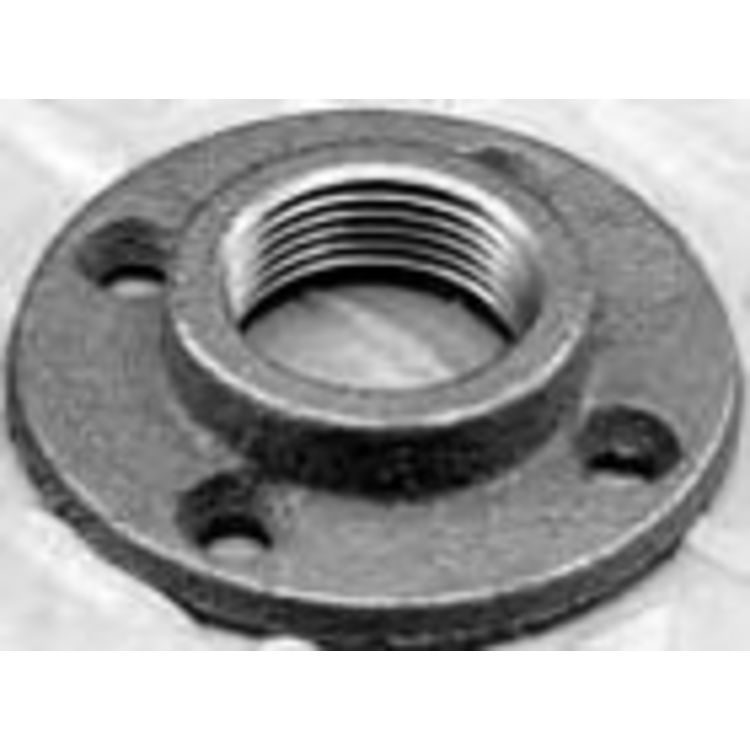 1 black iron floor flange plumbersstock for 1 black floor flange