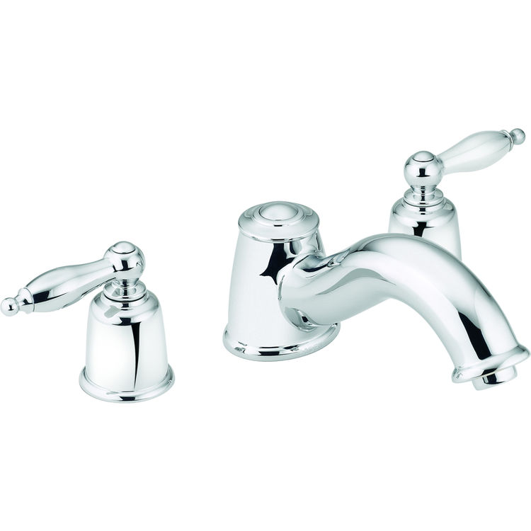 Moen Faucet T6985 Castelby Chrome Two Handle Roman Tub Faucet Plumbersstock