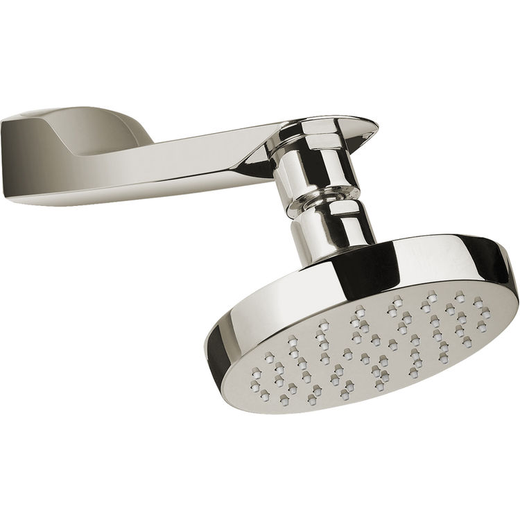 toto ts960ar bn brushed nickel soiree showerhead plumbersstock. Black Bedroom Furniture Sets. Home Design Ideas
