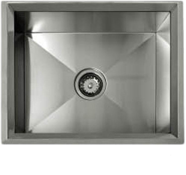 Lenova ss rim ms 22 x18 1 bowl undermount kitchen sink - Kitchen sink rim ...