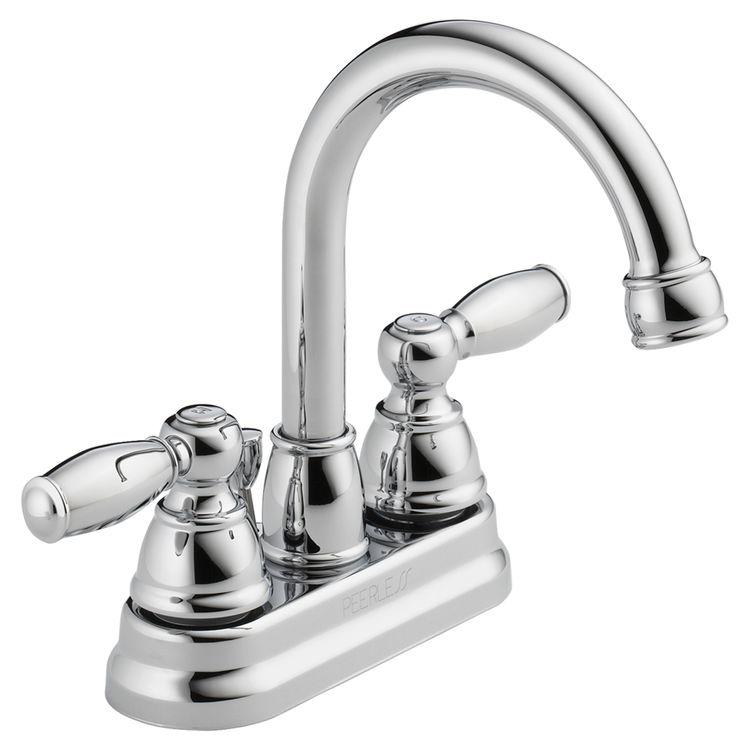 Peerless P299685lf Two Handle Lavatory Faucet Plumbersstock